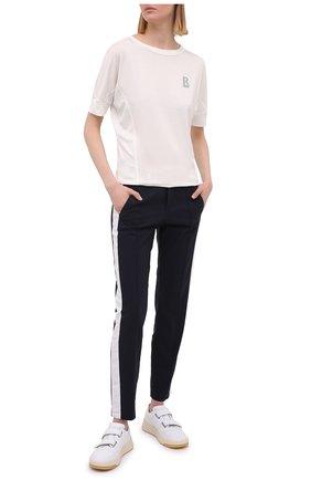 Женские брюки BOGNER синего цвета, арт. 11574200 | Фото 2