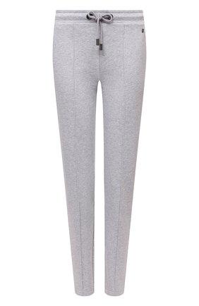 Женские хлопковые брюки BOGNER серого цвета, арт. 16976678 | Фото 1