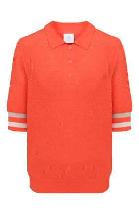 Женское поло из вискозы BOGNER оранжевого цвета, арт. 81926753   Фото 1