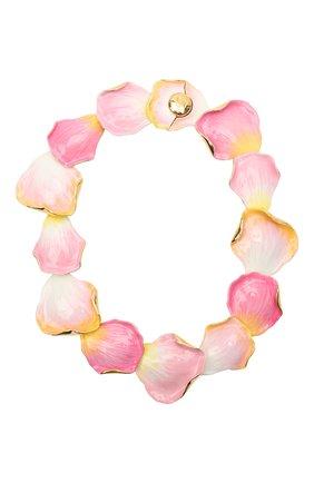 Женское колье LANVIN розового цвета, арт. AW-CJGN01-PTEM-P21 | Фото 1