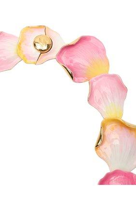 Женское колье LANVIN розового цвета, арт. AW-CJGN01-PTEM-P21 | Фото 2