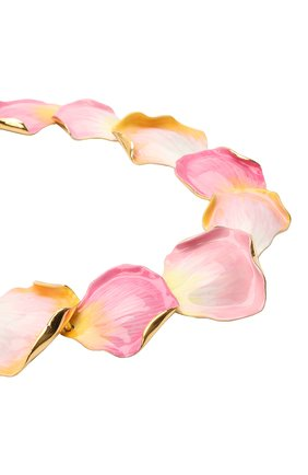 Женское колье LANVIN розового цвета, арт. AW-CJGN01-PTEM-P21   Фото 3