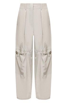 Женские брюки GIORGIO ARMANI светло-серого цвета, арт. 1SHPP0GH/T02AW | Фото 1