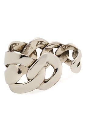 Женское кольцо ALEXANDER MCQUEEN серебряного цвета, арт. 659632/J160Y | Фото 2
