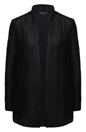 Женский жакет GIORGIO ARMANI черного цвета, арт. 3KAG71/AJGGZ | Фото 1