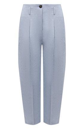 Женские брюки из хлопка и льна TELA голубого цвета, арт. 01 0170 14 0231 | Фото 1