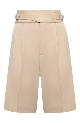 Женские шерстяные шорты RALPH LAUREN кремвого цвета, арт. 290840159 | Фото 1