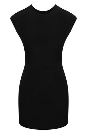Женский комбинезон из шерсти и шелка VALENTINO черного цвета, арт. VB0VE1L56BS | Фото 1