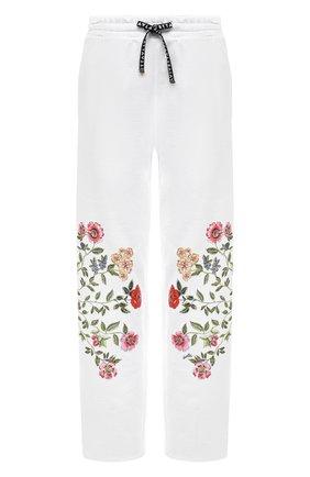 Женские хлопковые брюки VIVETTA белого цвета, арт. 21E V2M0/B071/6954 | Фото 1