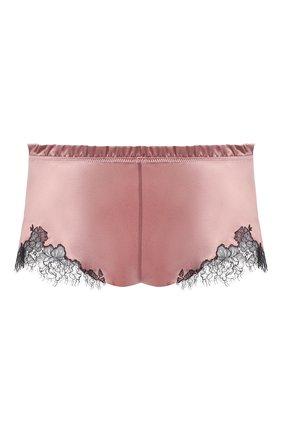 Женские шелковые шорты CARINE GILSON розового цвета, арт. CG0768PS S21 | Фото 1