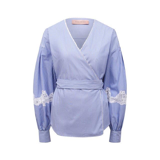 Хлопковая рубашка Ermanno Firenze