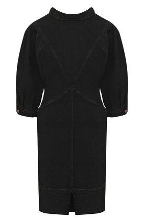 Женское джинсовое платье ISABEL MARANT ETOILE темно-серого цвета, арт. R01891-21P065E/LAURE | Фото 1