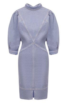 Женское джинсовое платье ISABEL MARANT ETOILE голубого цвета, арт. R01891-21P065E/LAURE | Фото 1