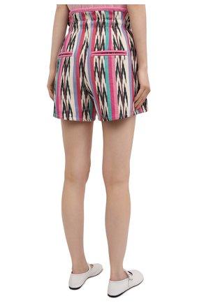 Женские хлопковые шорты ISABEL MARANT ETOILE разноцветного цвета, арт. SH0367-21P010E/INIMA | Фото 4