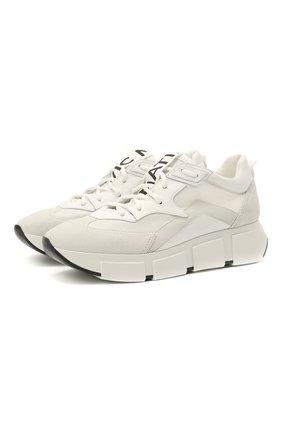 Женские комбинированные кроссовки VIC MATIE белого цвета, арт. 1Z5428D.U02TZ6T175 | Фото 1