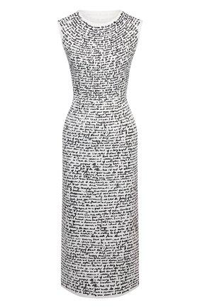 Женское платье DRIES VAN NOTEN белого цвета, арт. 211-11038-2095 | Фото 1
