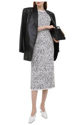 Женское платье DRIES VAN NOTEN белого цвета, арт. 211-11038-2095 | Фото 2
