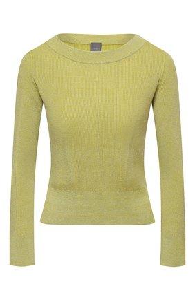 Женский пуловер LORENA ANTONIAZZI желтого цвета, арт. P21115BM025/1329 | Фото 1