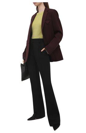 Женский пуловер LORENA ANTONIAZZI желтого цвета, арт. P21115BM025/1329 | Фото 2