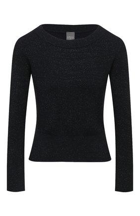 Женский пуловер LORENA ANTONIAZZI темно-синего цвета, арт. P21115BM025/1329   Фото 1