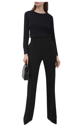 Женский пуловер LORENA ANTONIAZZI темно-синего цвета, арт. P21115BM025/1329   Фото 2