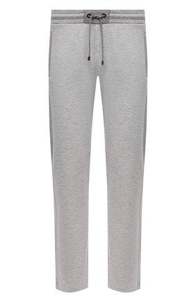 Мужские брюки BOGNER светло-серого цвета, арт. 18783928 | Фото 1 (Длина (брюки, джинсы): Стандартные; Материал внешний: Вискоза, Синтетический материал; Кросс-КТ: Спорт; Мужское Кросс-КТ: Брюки-трикотаж; Стили: Спорт-шик)