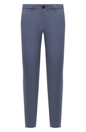 Мужские хлопковые брюки BOGNER серого цвета, арт. 18053320   Фото 1