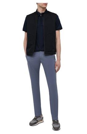 Мужские хлопковые брюки BOGNER серого цвета, арт. 18053320   Фото 2