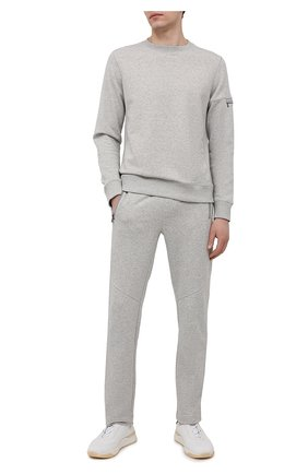 Мужские хлопковые брюки BOGNER светло-серого цвета, арт. 18736605 | Фото 2