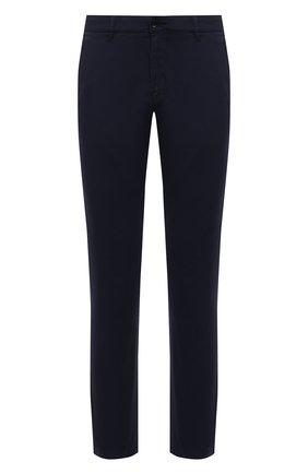 Мужские хлопковые брюки BOGNER темно-синего цвета, арт. 18053320 | Фото 1