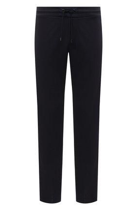 Мужские брюки BOGNER темно-синего цвета, арт. 18783928 | Фото 1 (Материал внешний: Синтетический материал, Вискоза; Длина (брюки, джинсы): Стандартные; Кросс-КТ: Спорт; Мужское Кросс-КТ: Брюки-трикотаж; Стили: Спорт-шик)