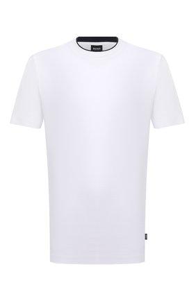 Мужская футболка BOSS белого цвета, арт. 50448850   Фото 1