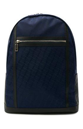 Мужской текстильный рюкзак ZILLI темно-синего цвета, арт. MJL-0BR05-J0440/0001   Фото 1