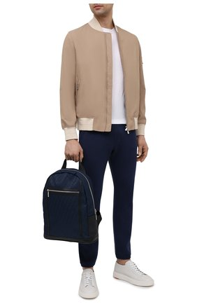 Мужской текстильный рюкзак ZILLI темно-синего цвета, арт. MJL-0BR05-J0440/0001   Фото 2