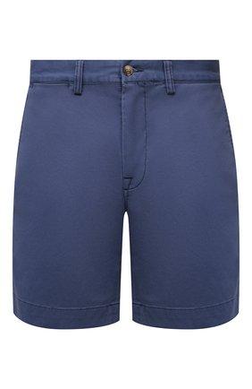 Мужские хлопковые шорты POLO RALPH LAUREN синего цвета, арт. 710799213 | Фото 1