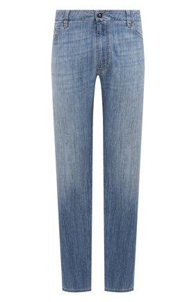 Мужские джинсы CORTIGIANI голубого цвета, арт. 113513/S500/0000/3130/60-70 | Фото 1