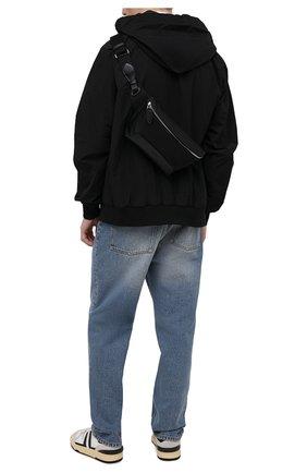 Мужская текстильная поясная сумка RALPH LAUREN черного цвета, арт. 437831108 | Фото 2