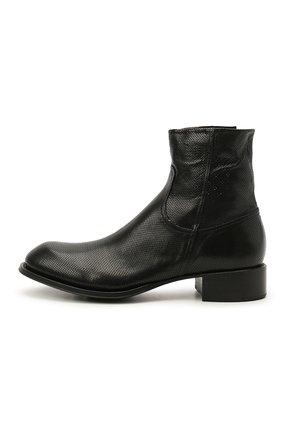 Мужские кожаные сапоги ROCCO P. черного цвета, арт. 12031/UNIVERSAL   Фото 3