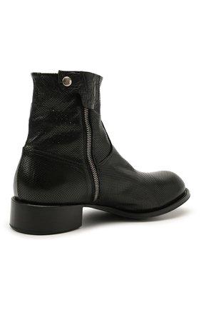 Мужские кожаные сапоги ROCCO P. черного цвета, арт. 12031/UNIVERSAL   Фото 4