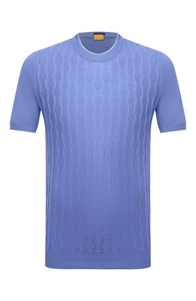 Мужской хлопковый джемпер SVEVO голубого цвета, арт. 82165SE21/MP0002   Фото 1