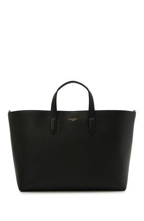 Мужская кожаная сумка-тоут monreale DOLCE & GABBANA черного цвета, арт. BM1749/AC954 | Фото 1