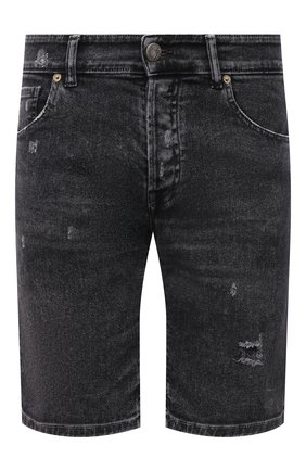 Мужские джинсовые шорты PREMIUM MOOD DENIM SUPERIOR темно-серого цвета, арт. S21 03103S27/PAUL/S   Фото 1