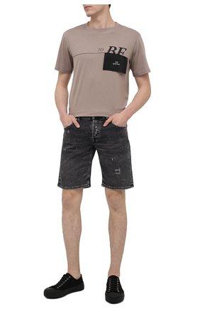 Мужские джинсовые шорты PREMIUM MOOD DENIM SUPERIOR темно-серого цвета, арт. S21 03103S27/PAUL/S   Фото 2