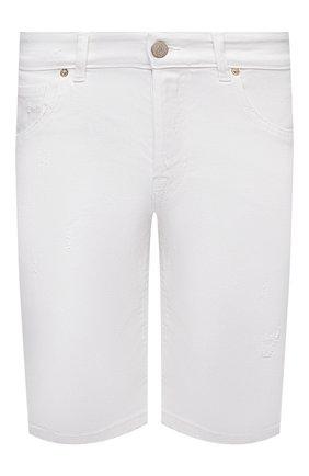 Мужские джинсовые шорты PREMIUM MOOD DENIM SUPERIOR белого цвета, арт. S21 03103S27/PAUL/S   Фото 1