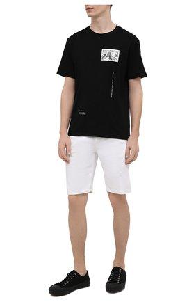Мужские джинсовые шорты PREMIUM MOOD DENIM SUPERIOR белого цвета, арт. S21 03103S27/PAUL/S   Фото 2