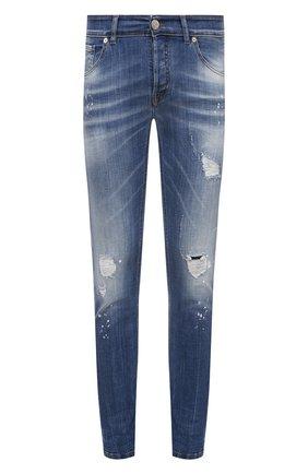 Мужские джинсы PREMIUM MOOD DENIM SUPERIOR синего цвета, арт. S21 0310340030/PAUL | Фото 1