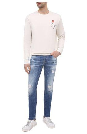Мужские джинсы PREMIUM MOOD DENIM SUPERIOR синего цвета, арт. S21 0310340030/PAUL | Фото 2