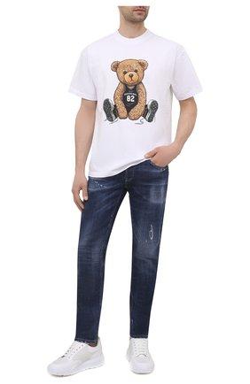 Мужские джинсы PREMIUM MOOD DENIM SUPERIOR синего цвета, арт. S21 0310340015/PAUL | Фото 2