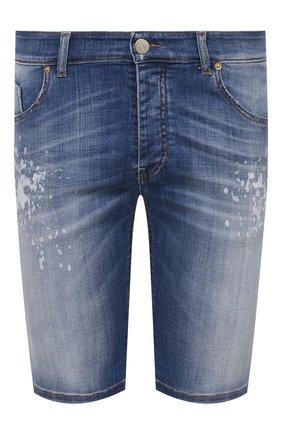 Мужские джинсовые шорты PREMIUM MOOD DENIM SUPERIOR синего цвета, арт. S21 03527S400/BARRET/S | Фото 1