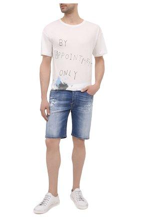 Мужские джинсовые шорты PREMIUM MOOD DENIM SUPERIOR синего цвета, арт. S21 03527S400/BARRET/S | Фото 2